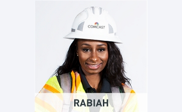 photo of commtech named Rabiah